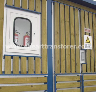European-type Transformer Substation